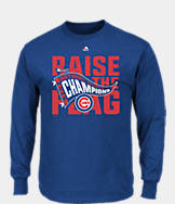 Men's Majestic Chicago Cubs MLB League Championship Long-Sleeve T-Shirt