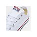 Front view of Converse Unisex Chuck Taylor Ox in Optical White