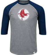 Men's Majestic Boston Red Sox MLB Margin Raglan T-Shirt