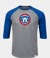 Men's Majestic Chicago Cubs MLB Margin Raglan T-Shirt