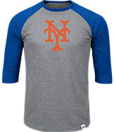 Men's Majestic New York Mets MLB Margin Raglan T-Shirt