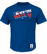 Men's Majestic New York Mets MLB On Field T-Shirt