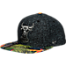 Front view of New Era Chicago Bulls NBA Miramar Snapback Hat in Tropical