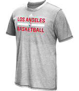 Men's adidas Los Angeles Clippers NBA Aero On Court T-Shirt