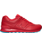 Men's New Balance 574 Mono Perf Ice Casual Shoes