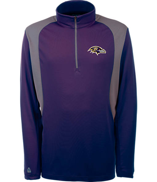 Men's Antigua Minnesota Vikings NFL Delta Quarter Zip Shirt