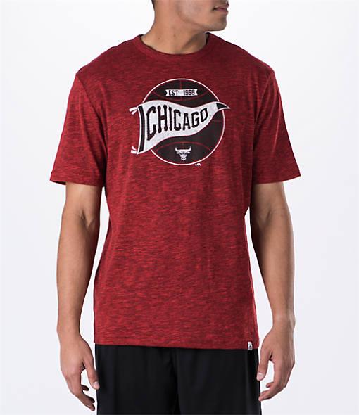 Men's Majestic Chicago Bulls NBA Established Success T-Shirt
