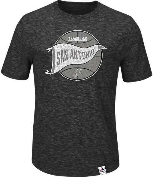 Men's Majestic San Antonio Spurs NBA Established Success T-Shirt