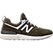 Right view of Men's New Balance 574 Sport Casual Shoes in Khaki/Olive