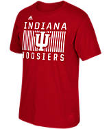 Men's adidas Indiana Hoosiers College Big Pattern Name T-Shirt