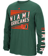 Men's adidas Miami Hurricanes College Varsity T-Shirt