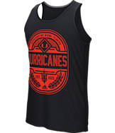 Men's adidas Miami Hurricanes College Patch Tank