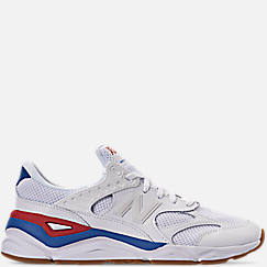 Mens 뉴발란스 New Balance X-90 V2 Casual Shoes,White/Red/Blue