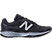 Right view of Men's New Balance MT620 Running Shoes in Black/Silver