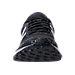 Front view of Men's New Balance MT620 Running Shoes in Black/Silver