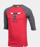 Men's Majestic Chicago Bulls NBA Equal Effort Baseball T-Shirt