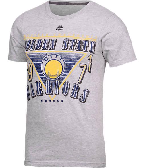 Men's Majestic Golden State Warriors NBA Gameday Fun T-Shirt
