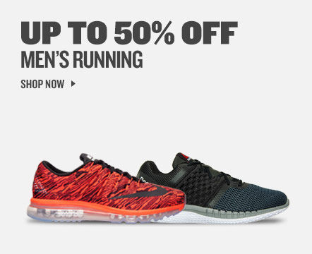 Up To 50% Off Men's Running. Shop Now.