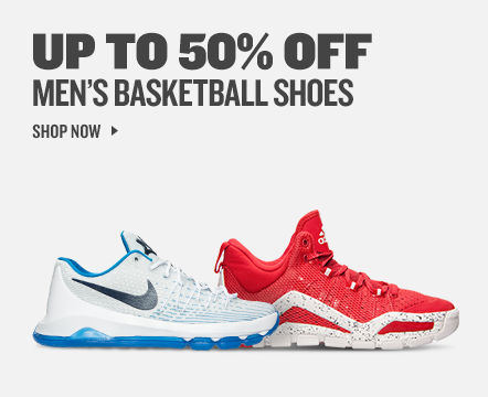 Up To 50% Off Men's Basketball Shoes. Shop Now.