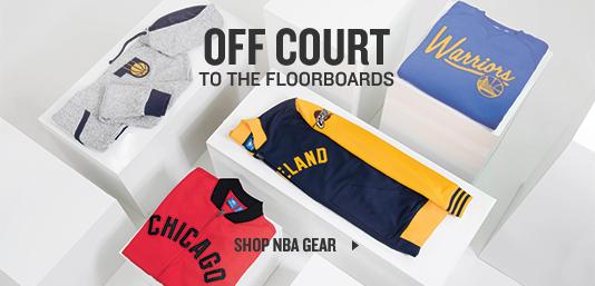 Shop NBA Gear.