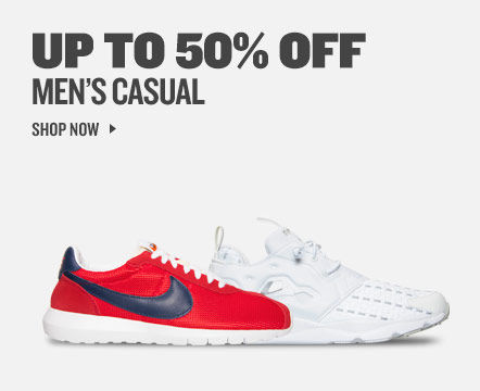 Up To 50% Off Men's Casual. Shop Now.