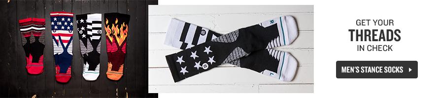 Shop Men's Stance Socks.