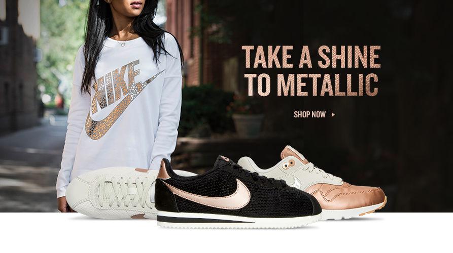 Take A Shine To Metallic. Shop Now.