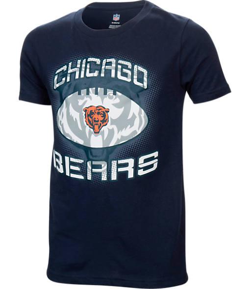 Kids' Chicago Bears NFL Infinity Cotton T-Shirt