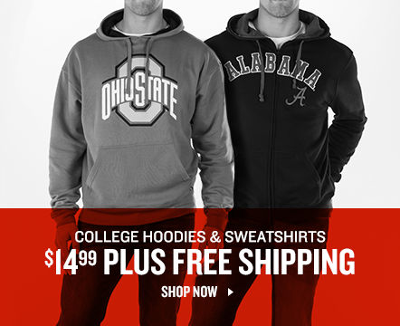 College Hoodies & Sweatshirts $14.99 Plus Free Shipping. Shop Now.