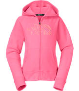 Girls' The North Face Logo Full-Zip Hoodie