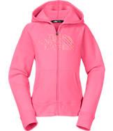 Girls' The North Face Logo Full-Zip Hoodie