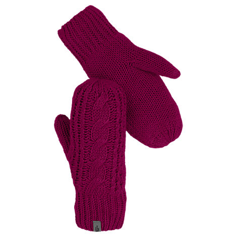 Women's The North Face Cable Knit Mittens