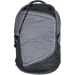 Front view of The North Face Hot Shot Backpack in Dark Grey Heather/Medium Grey