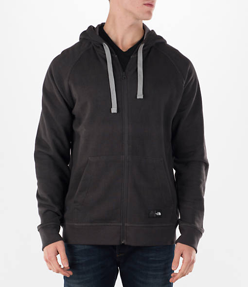 The North Face Mens Wicker Full-Zip Hoodie (TNF Black Print)