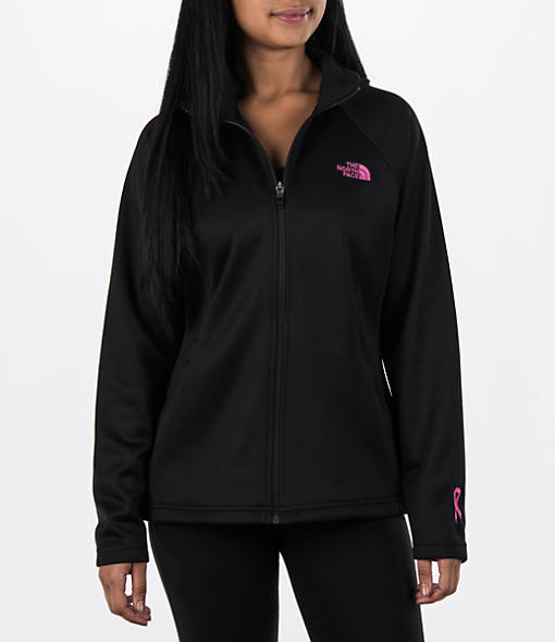 Women's The North Face Pink Ribbon Agave Full Zip Jacket