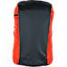 Front view of The North Face Kaban Backpack in Acrylic Orange/Black
