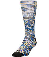 For Bare Feet Baltimore Ravens NFL Montage Crew Socks
