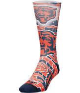 For Bare Feet Chicago Bears NFL Montage Crew Socks