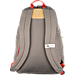 Back view of The North Face Berkeley Backpack in Falcon Brown/Orange