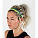 Back view of Nike Printed 6-Pack Headbands in Blustery/Aqua/Blue