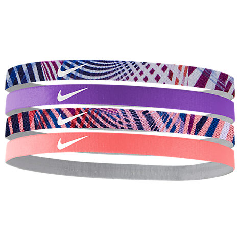 Girls' Nike 4-Pack Headbands