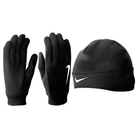 Nike Thermal Beanie and Gloves Set