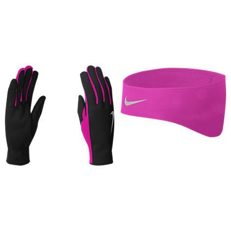 Nike Thermal Headband and Gloves Set