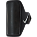 Front view of Nike Lightweight Arm Band 2.0 in Black/Silver