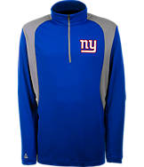 Men's Antigua New York Giants NFL Delta Quarter Zip Shirt