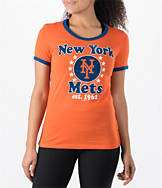 Women's New Era New York Mets MLB Vintage Ringer T-Shirt