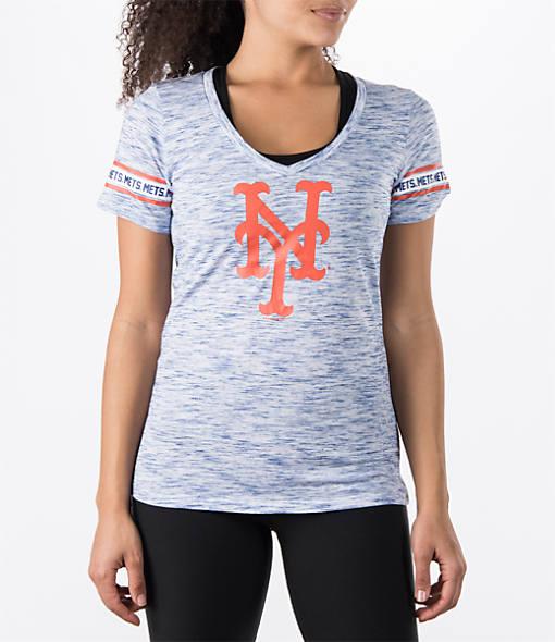 Women's New Era New York Mets MLB Space Dye T-Shirt