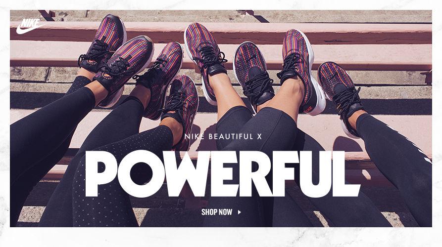 Nike Beautiful X. Shop Now.