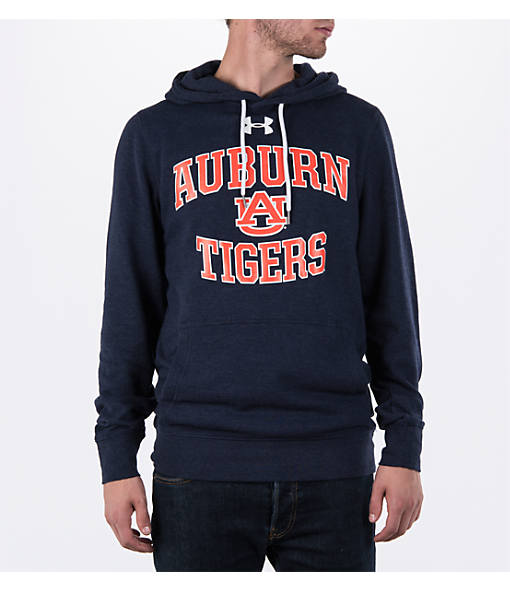 Men's Under Armour Auburn Tigers College Tri-Blend Fleece Hoodie