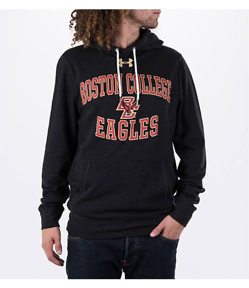 Men's Under Armour Boston College College Tri-Blend Fleece Hoodie